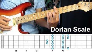 Зачем нужен дорийский лад (Dorian Scale). Урок по импровизации.