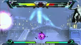 UMVC3: MC KBeast vs Alex - Round Robin - LOST IN SPACE 003