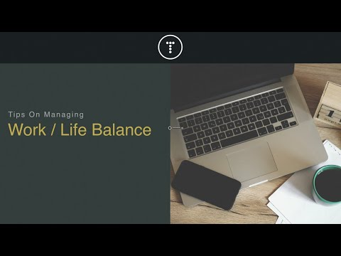 Realistic Work-Existence Balance Tips