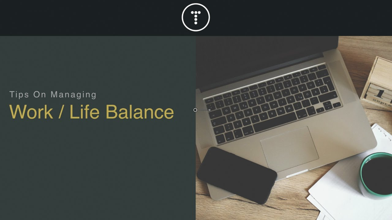 Work & Life Balance Tips For Programmers