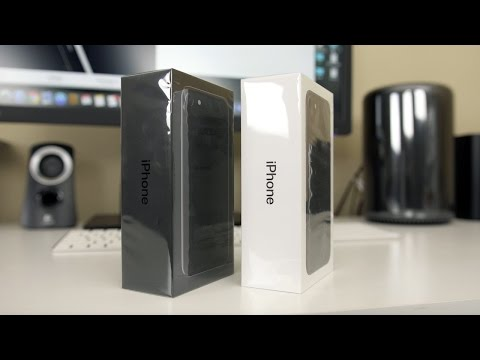IPhone 7 Unboxing (Jet Black And Black)