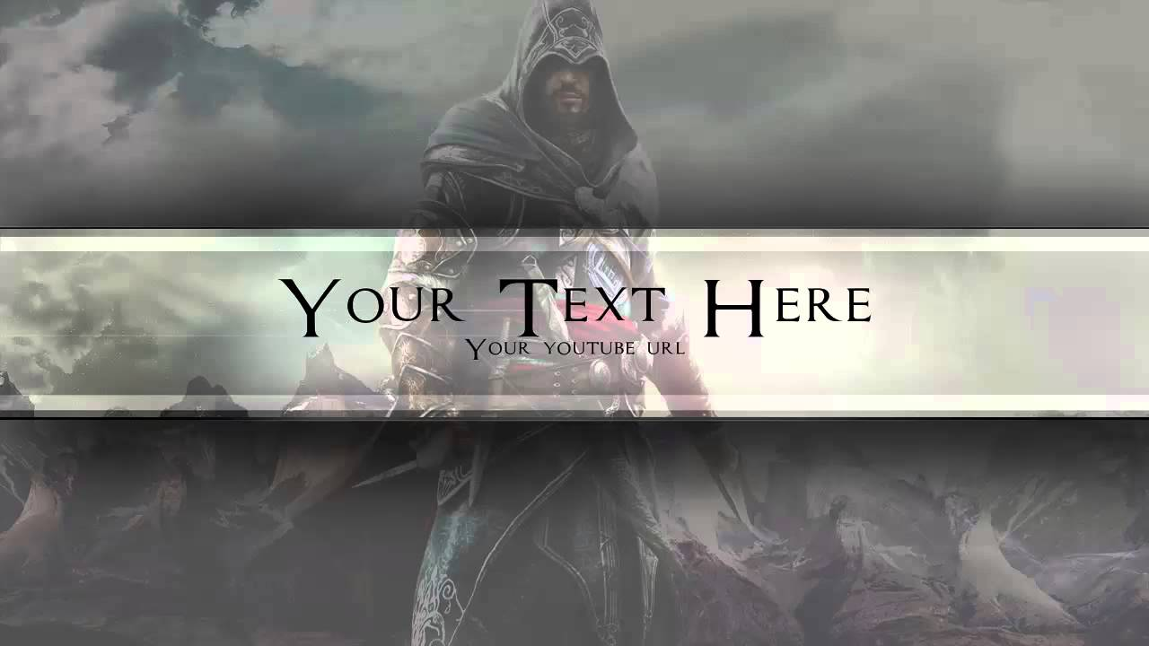 Free Assassin S Creed Youtube Banner Youtube