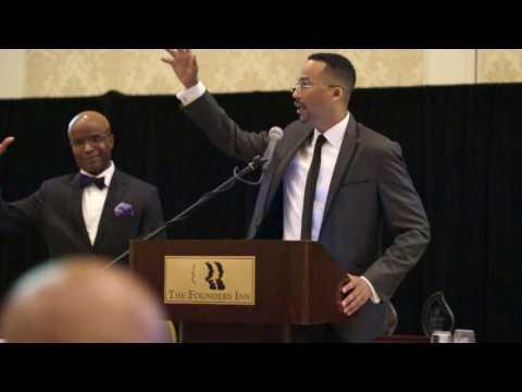 Dr David M Anderson Sr SPEAKS - THE BLACK MALE INITIATIVE - 900 MEN&39;s Annual Breakfast Norfolk VA