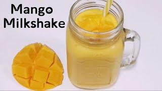 Mango Milkshake Recipe by Sharda Cook