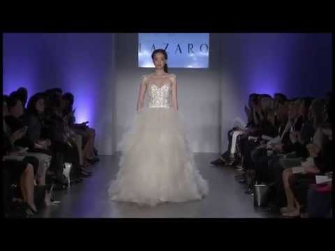 Lazaro Bridal Spring 2015 Style 3510