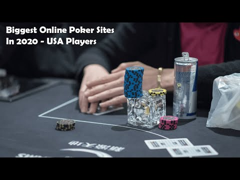 Biggest Online Poker Sites In 2020 - USA Players 🃏