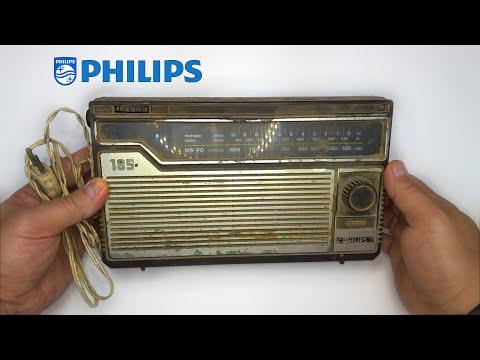 RESTORATION the Vintage 70's Portable PHILIPS Transistor Radio