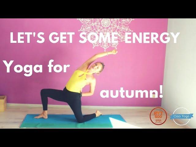 Yoga per l'autunno: donati un pò di energia!