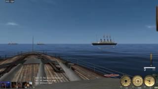 Silent Hunter III Using titanic as target practice