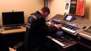 Roland Kaiser - Warum hast du nicht nein gesagt feat. Maite Kelly Yamaha Tyros 5 Roland G70 by Rico