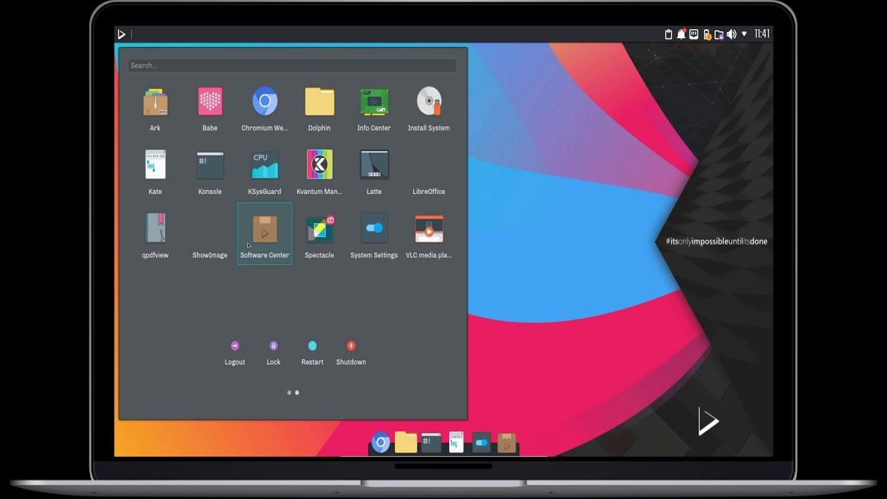 Nitrux - A Beautiful, Portable Apps-Focused Linux Distro