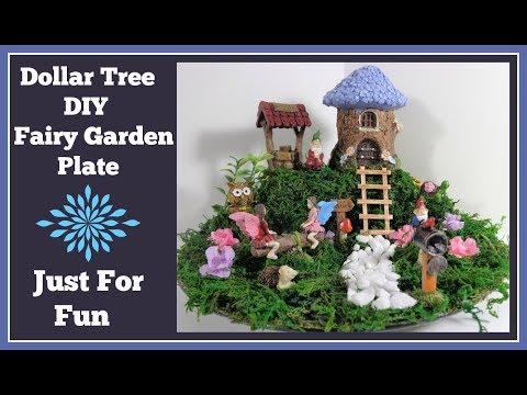 Fairy Garden Diy Dollar Tree 🌸