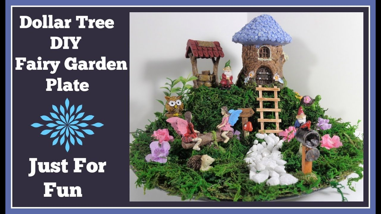 Simply Sweet Pie Stand Fairy Garden