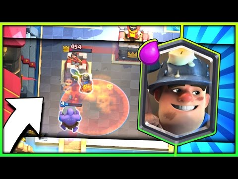 POWERFUL MINER CONTROL DECK!! Miner Bowler Control in Legendary Arena 11 - Clash Royale Strategy להורדה