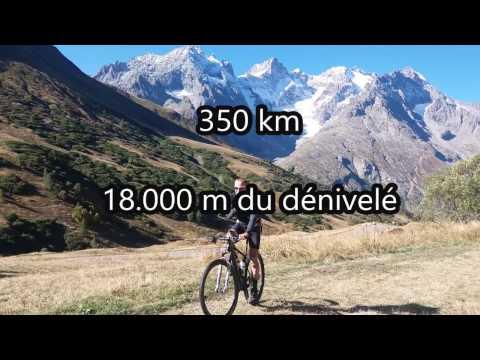 La Grande Traversée des Hautes Alpes 2016 par VTT