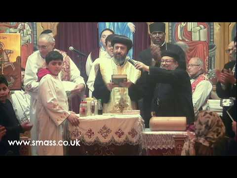 Visit of HG Bishop Angaelos (New Bishop of the London Diocese) & Arrival of the relics of St. George