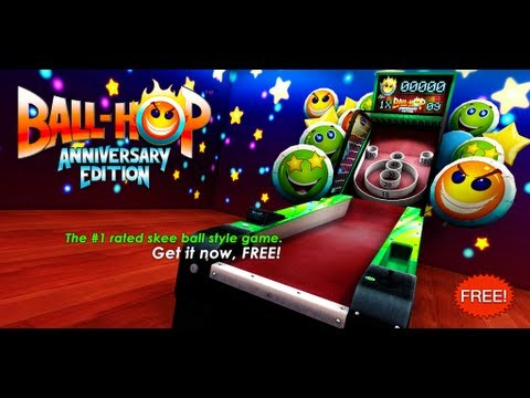 Ball-Hop Anniversary Edition, the #1 skee ball style game for Android / Apple iOS (Gameplay Trailer)