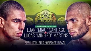 Brave 11 Lucas Martins vs Luan Santiago - Fireworks