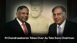 New Tata Sons Chairman Outlines His Priorities