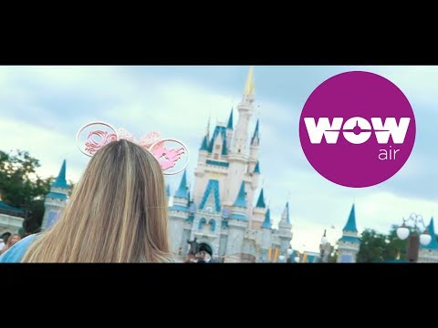 WOW Air Travel Guide Application- Orlando, FL