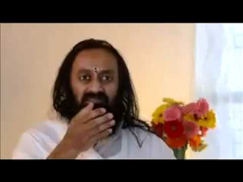 Sri Sri on MF Husain