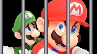 Mario and Luigi Break Out of Prison