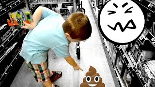 Did you POOP on the Floor?! | VLOG