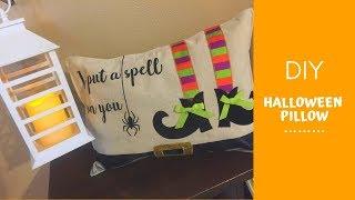 DIY | Halloween Pillow | October 3 2018