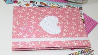Caderno Customizado – Volta as aulas – Back to School – Segredos de Aline