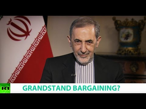 GRANDSTAND BARGAINING? Ft. Ali Akbar Velayati Snr Adviser to Iran's Supreme Leader