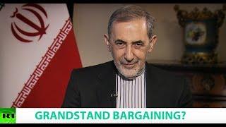 Video GRANDSTAND BARGAINING? Ft. Ali Akbar Velayati Snr Adviser to Iran's Supreme Leader download MP3, 3GP, MP4, WEBM, AVI, FLV Juli 2018
