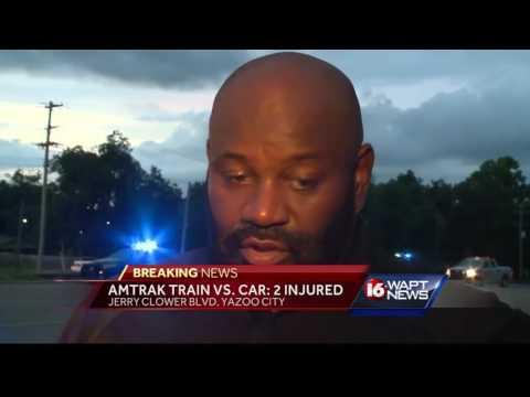 Train hits vehicle in Yazoo City