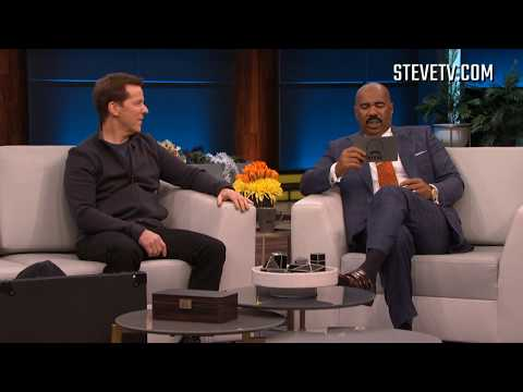 Jeff Dunham Messes With Steve Harvey's Set