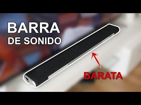 Barra De Sonido Barata Para Mejorar El Audio De Nuestro Televisor