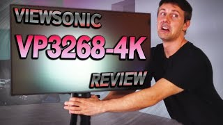 Viewsonic VP3268-4K Review - The BEST Monitor for 4K Editing & Gaming?