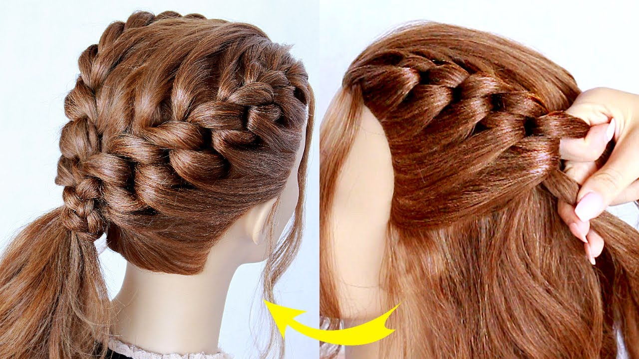 😱 New hairstyle for wedding and party || trending hairstyle || party hairstyle || UPDO hairstyle