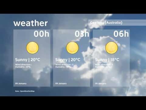 Geelong Forecast   9 January 2017