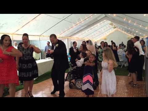 "The Wedding Of Jules & Tara Santiago. Presented by ""Motivate Entertainment""."
