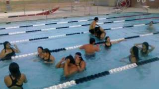 NHS swim team 2010