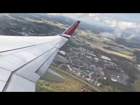 Norwegian Air International | Boeing 737-8JP(WL) | Stockholm Arlanda to London Gatwick | EI-FHV