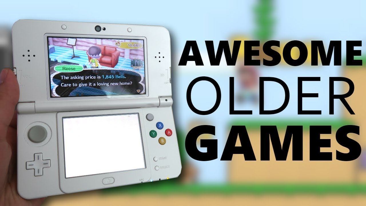 AWESOME older games I've been playing lately! (Game Boy, PS1, 3DS!)