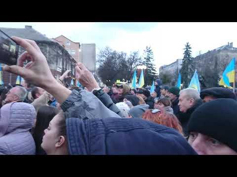 Новини Тернополя 20 хвилин: Порошенко в Тернополі. Театральний майдан