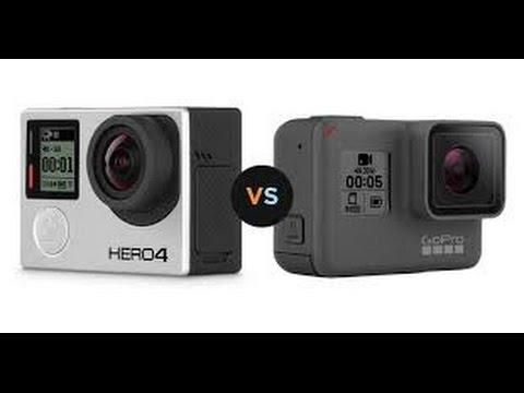GoPro Hero 5 Black vs GoPro Hero 4 Black comparison review - YouTube
