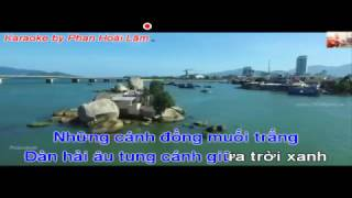 """Karaoke: """"Ninh Thuận quê mình"""" Sáng tác:  Phan Quốc Anh"""
