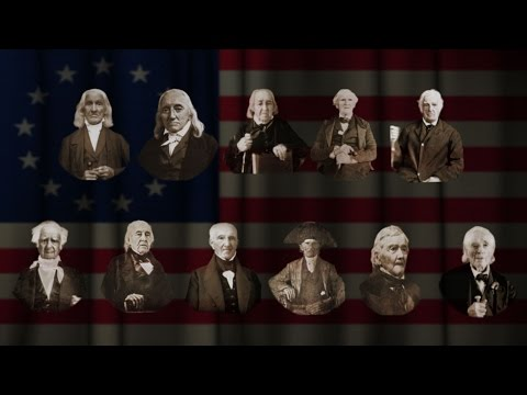 Actual Photos of Revolutionary War Patriots - animated with CrazyTalk