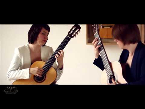 Koshkin Guitar Duo plays Ballade from the Cambridge Suite by Nikita Koshkin