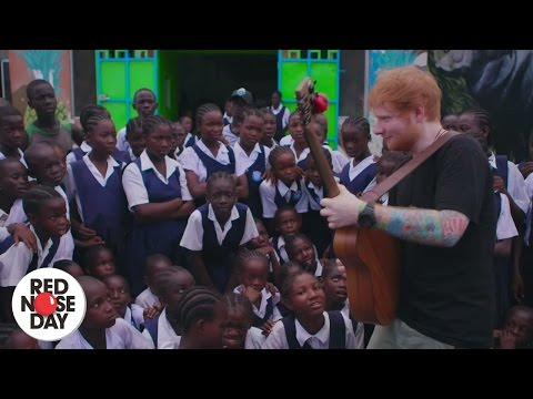 Ed Sheeran - What Do I Know? (Red Nose Day Exclusive) | Red Nose Day 2017