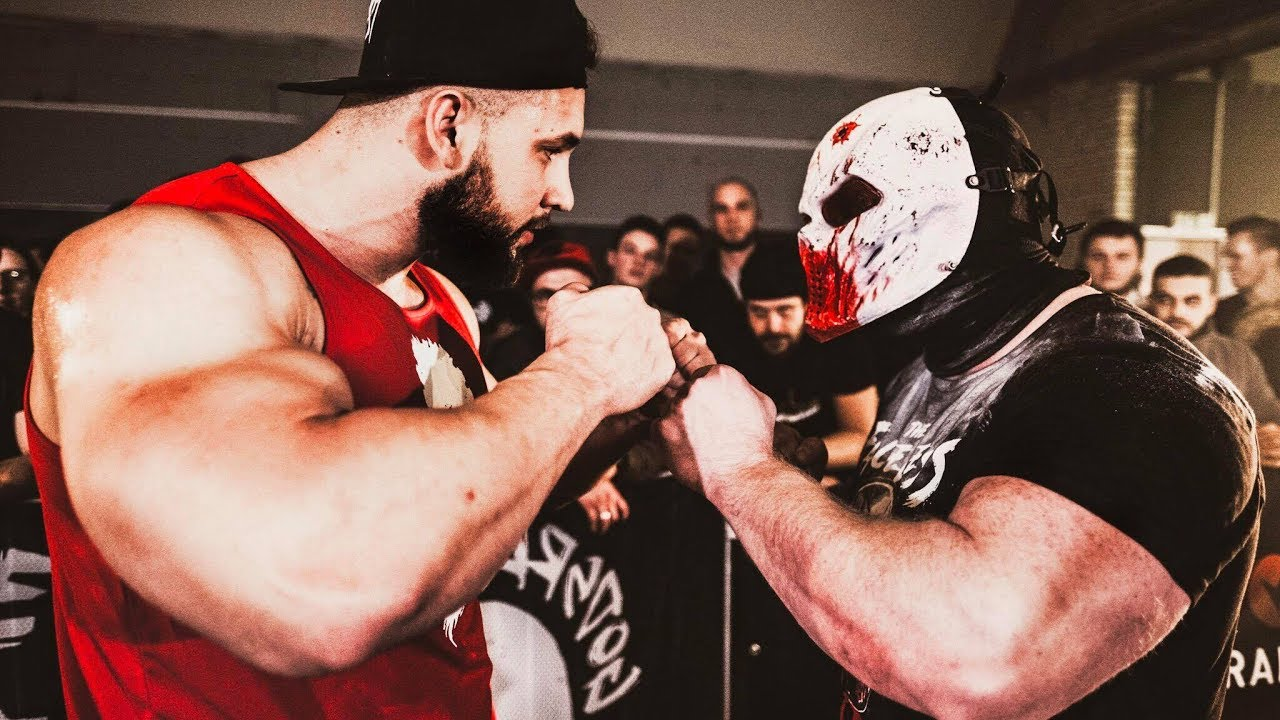 Download THE FINAL FIGHT: The Faceless VS Anabolic Horse - Strength Wars Final 2k17