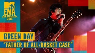 Green Day– Father Of All / Basket Case (LIVE) / MTV EMA 2019