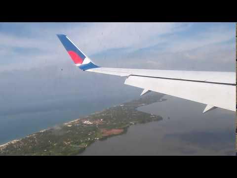 Взлет и посадка Москва-Шри-Ланка.Коломбо (Азур-Эйр 767-300) Декабрь 2019